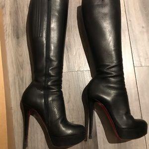 Christian louboutin boots.